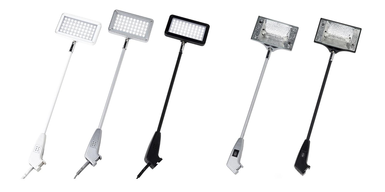 Lampy targowe, Oświetlenie targowe, Oświetlenie wystawiennicze